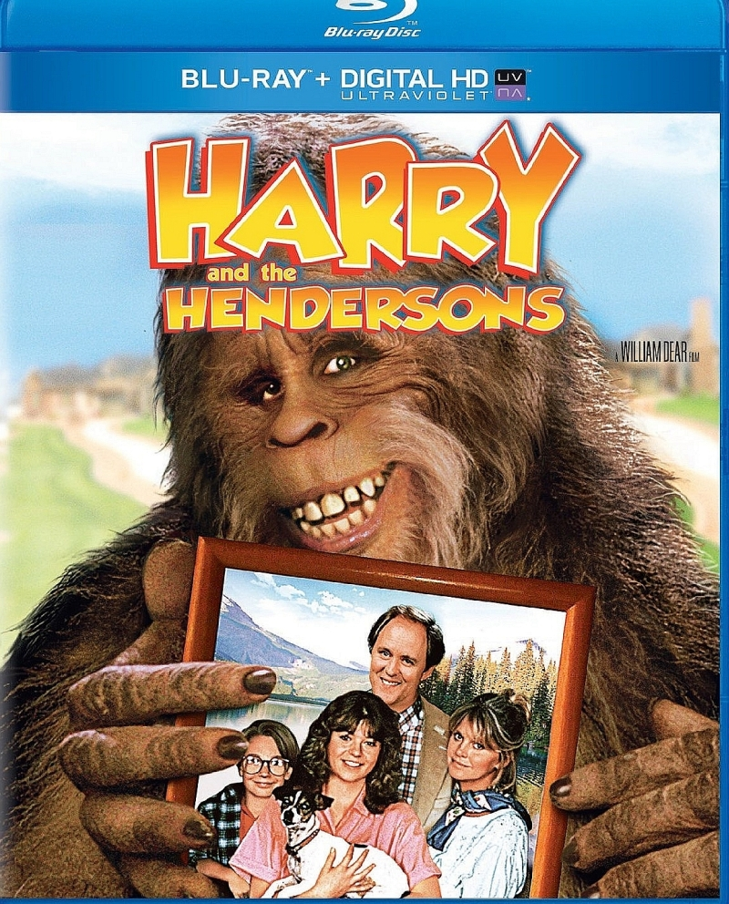 Гарри и Хендерсоны. Обложка с сайта amazon.co.uk