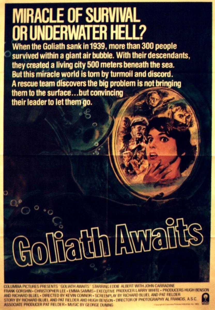 Ожидание «Голиафа». Обложка с сайта amazon.co.uk
