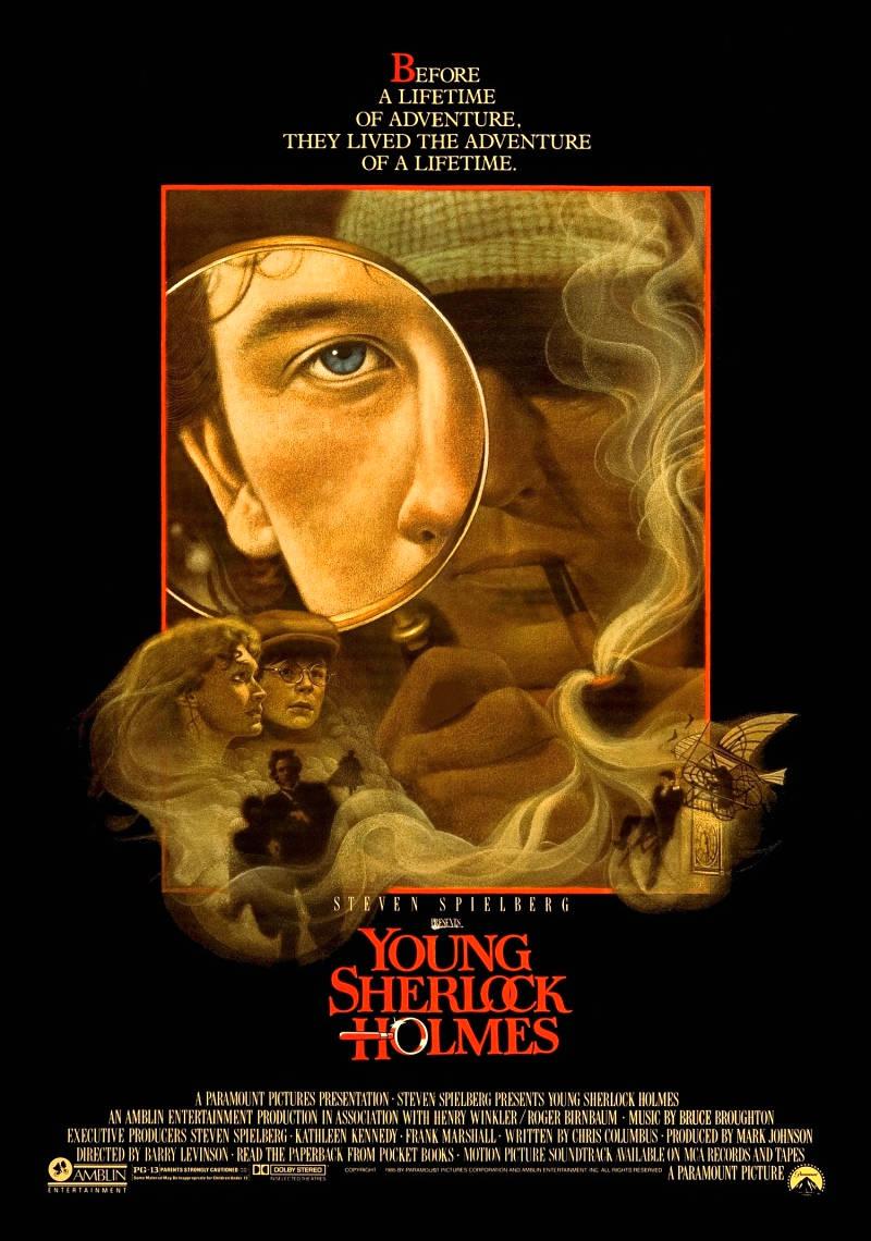 Молодой Шерлок Холмс. Обложка с сайта amazon.co.uk