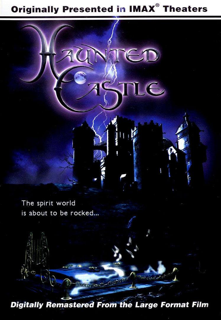 Замок с привидениями 3D. Обложка с сайта amazon.co.uk