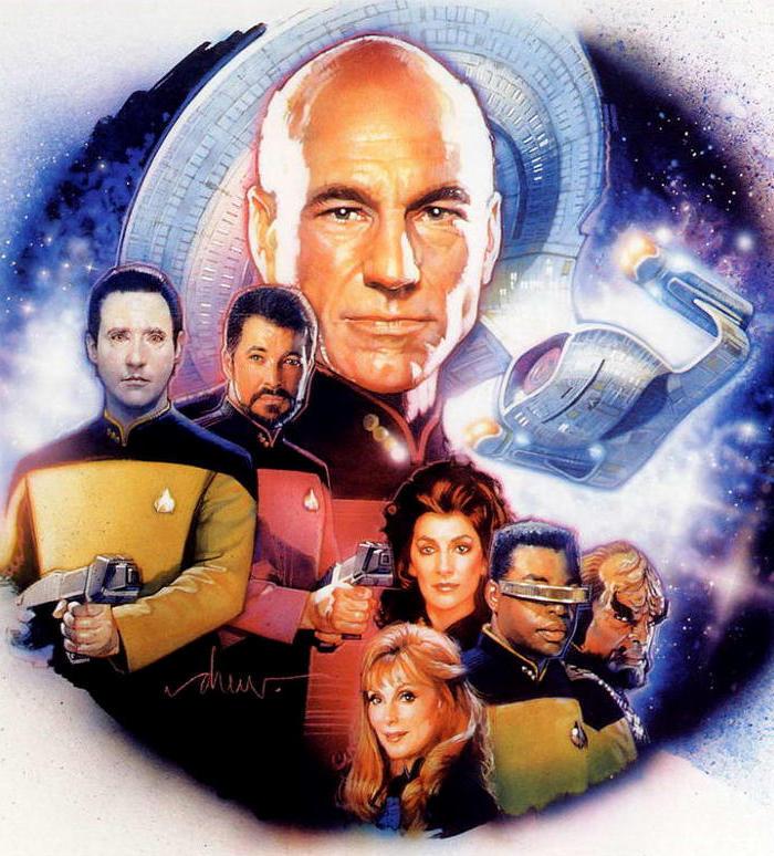 Звездный путь: Следующее поколение. Обложка с сайта imagepost.ru