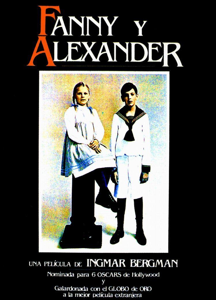 Фанни и Александр. Обложка с сайта amazon.com
