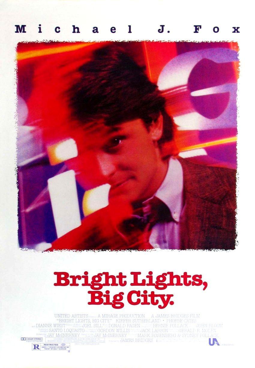 Яркие огни, большой город. Обложка с сайта amazon.com