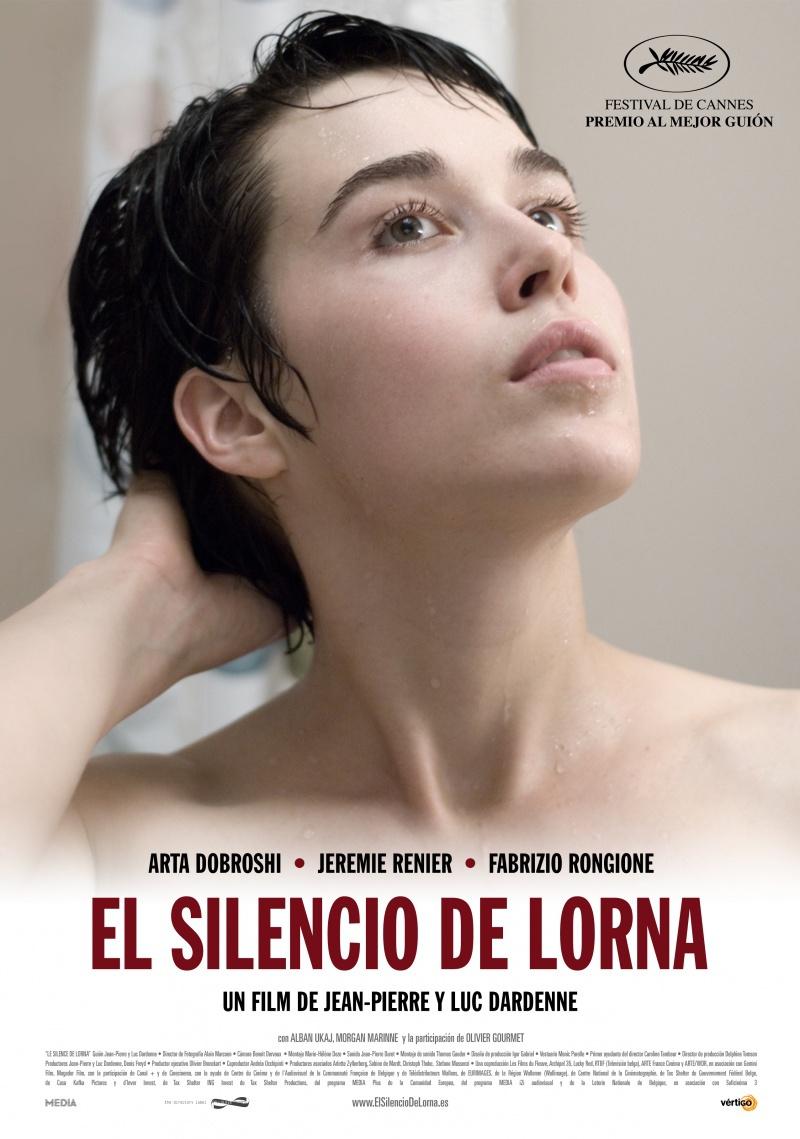 Молчание Лорны. Постер с сайта radikal.ru