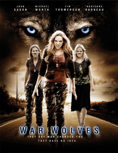 Военные Волки. Обложка с сайта amazon.com