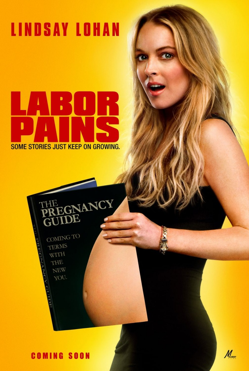 Временно беременна. Постер с сайта kinopoisk.ru