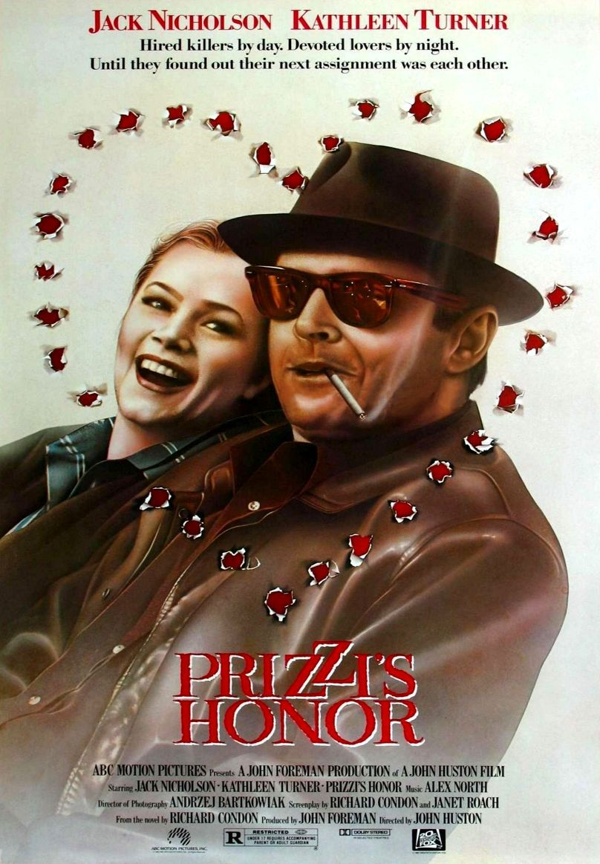 Честь семьи Прицци. Обложка с сайта amazon.co.uk