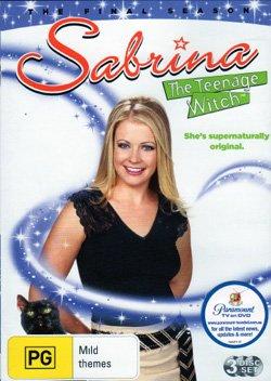 Сабрина - маленькая ведьма. Обложка с сайта kinopoisk.ru