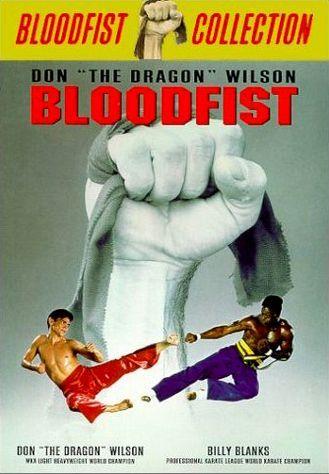 Кровавый кулак. Обложка с сайта kino-govno.com