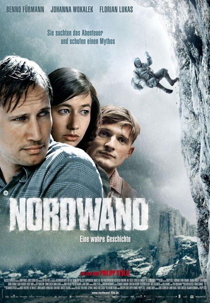 Северная стена. Обложка с сайта amazon.co.uk