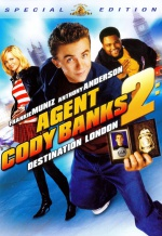 Агент Коди Бэнкс 2: Пункт назначения - Лондон. Обложка с сайта amazon.co.uk