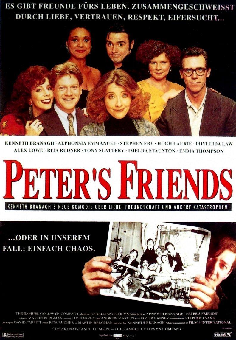 Друзья Питера. Обложка с сайта amazon.co.uk
