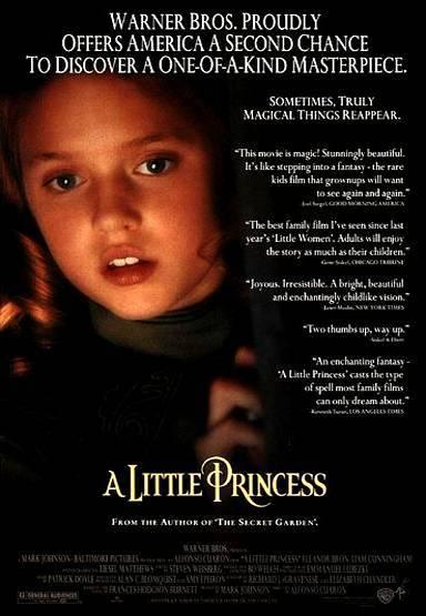 Маленькая принцесса. Обложка с сайта amazon.de