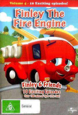 Финли: Маленькая пожарная машинка. Обложка с сайта imageshost.ru