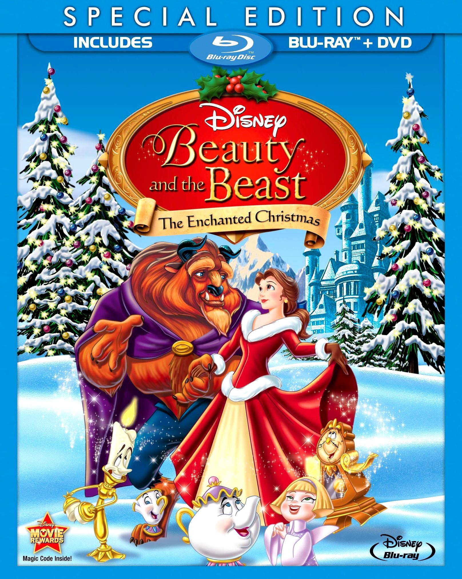 Красавица и чудовище 2: Заколдованное Рождество. Обложка с сайта imageshost.ru