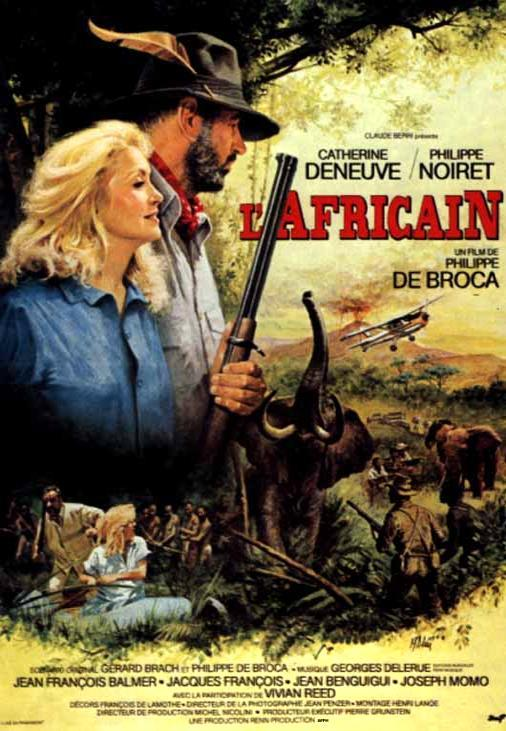Африканец. Обложка с сайта amazon.com