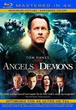 Ангелы и Демоны. Обложка с сайта blu-ray.com