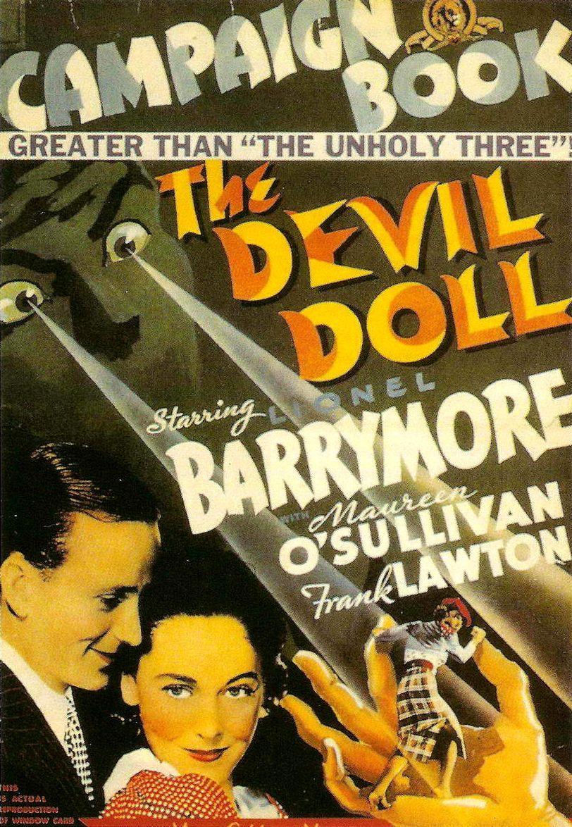 Дьявольская кукла. Обложка с сайта amazon.de