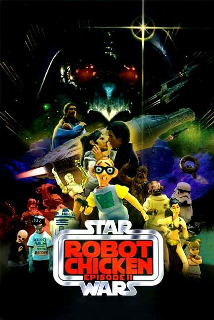 Робоцып: Звездные войны. Эпизод II. Обложка с сайта radikal.ru