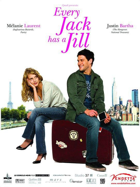Джек и Джилл: Любовь на чемоданах. Обложка с сайта amazon.co.uk