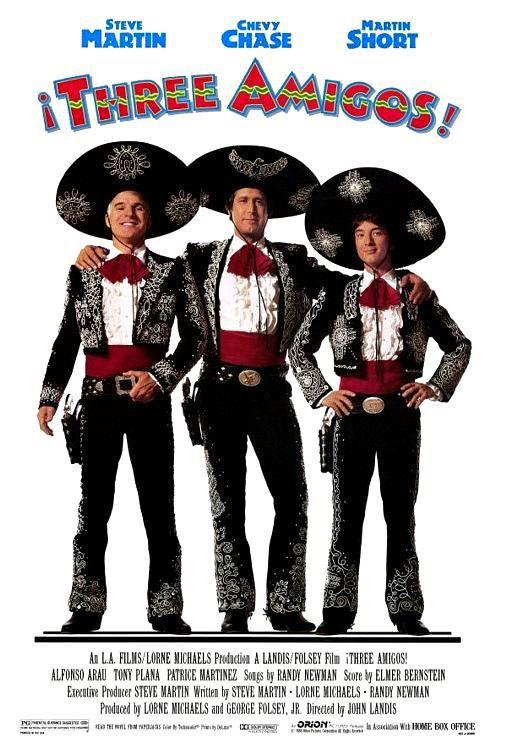 Три амигос!. Обложка с сайта amazon.de
