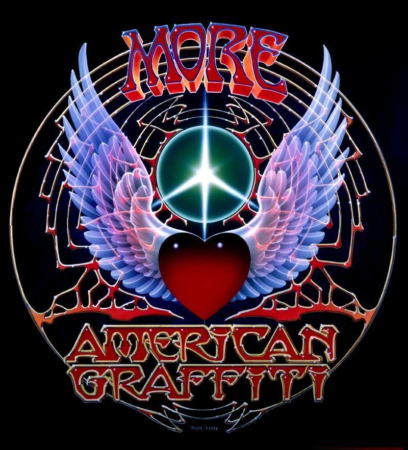 Новые американские граффити. Обложка с сайта amazon.com