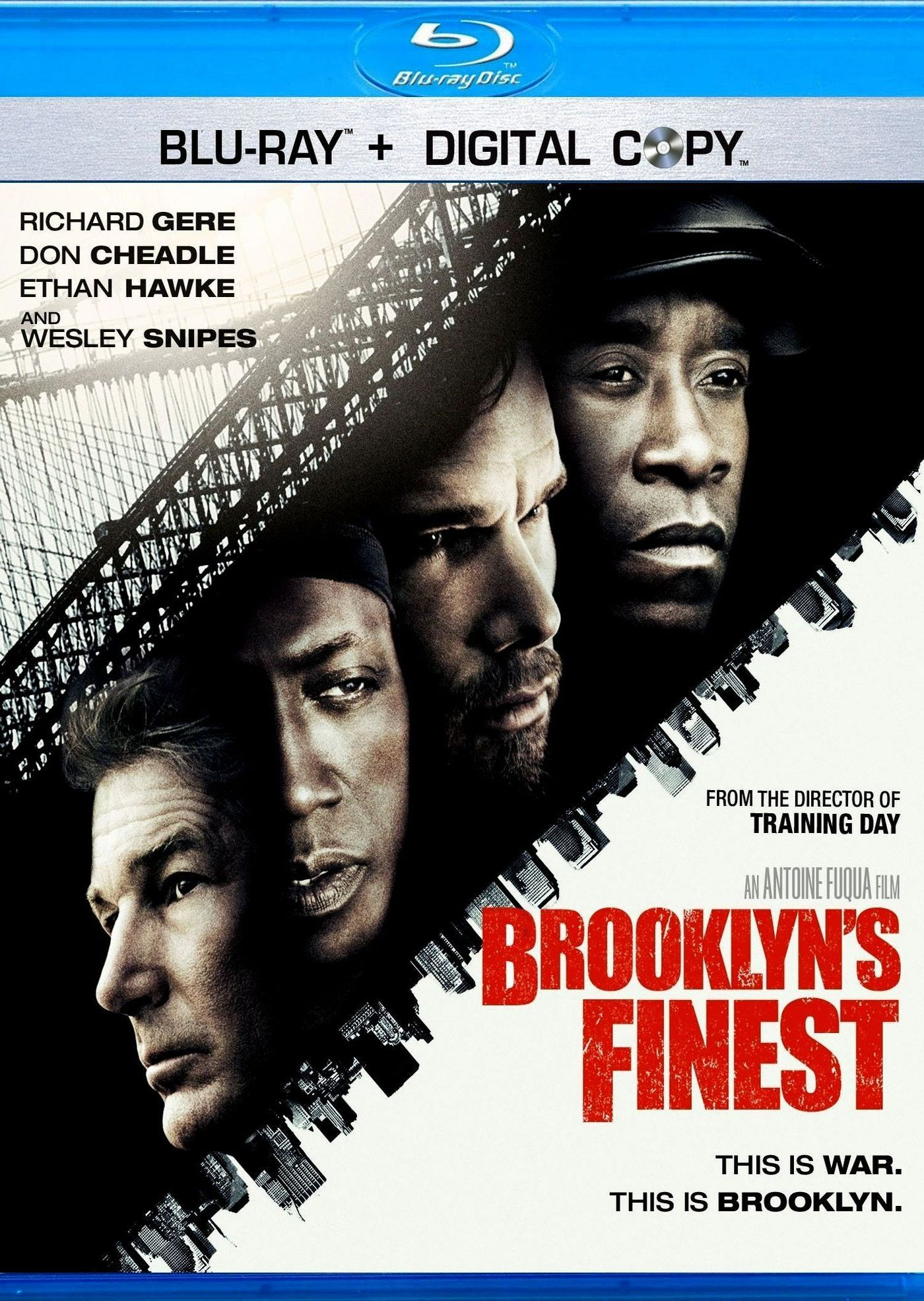 Бруклинские полицейские. Обложка с сайта blu-ray.com