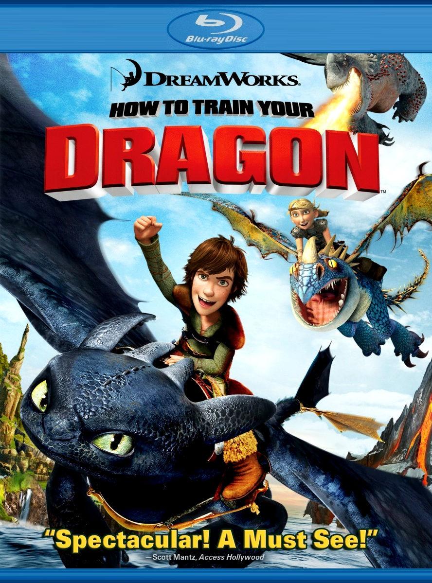 Как приручить дракона. Постер с сайта kinopoisk.ru