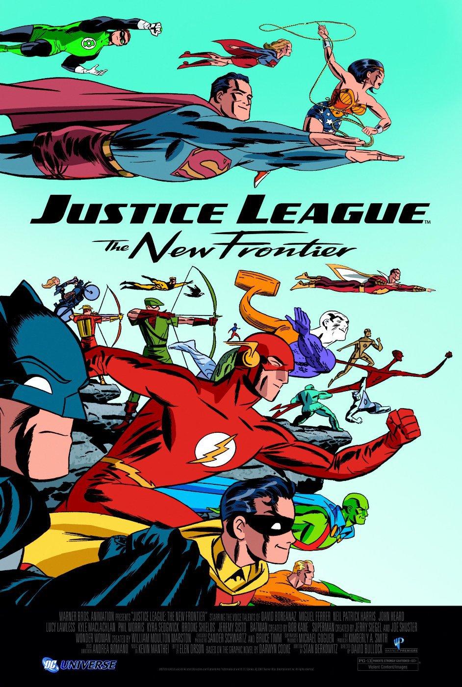 Лига справедливости: Новый барьер. Обложка с сайта ipicture.ru