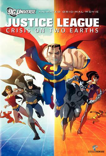 Лига Справедливости: Кризис на двух Землях. Обложка с сайта kino-govno.com