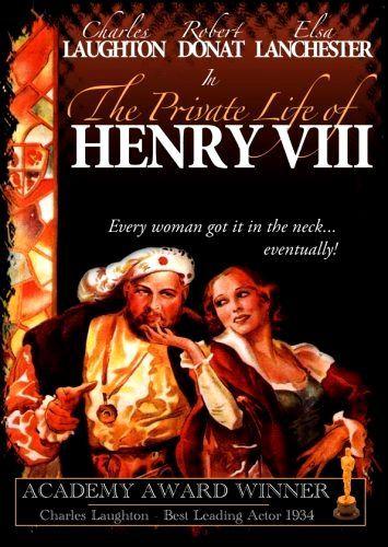 Частная жизнь Генриха VIII. Обложка с сайта kinopoisk.ru