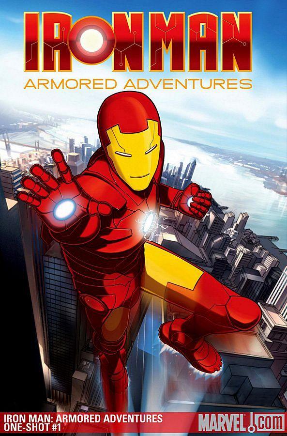 Железный человек: Приключения в броне. Обложка с сайта ozon.ru