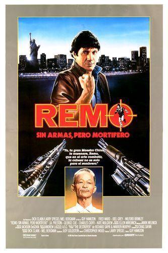 Римо Уильямс: Невооружен и опасен. Постер с сайта kinopoisk.ru