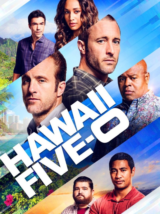 Гавайи 5-0. Постер с сайта telestrekoza.com