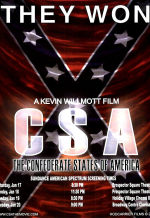 КША: Конфедеративные штаты Америки. Обложка с сайта kino-govno.com