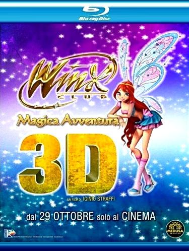 Winx Club: Волшебное приключение. Постер с сайта proficinema.ru