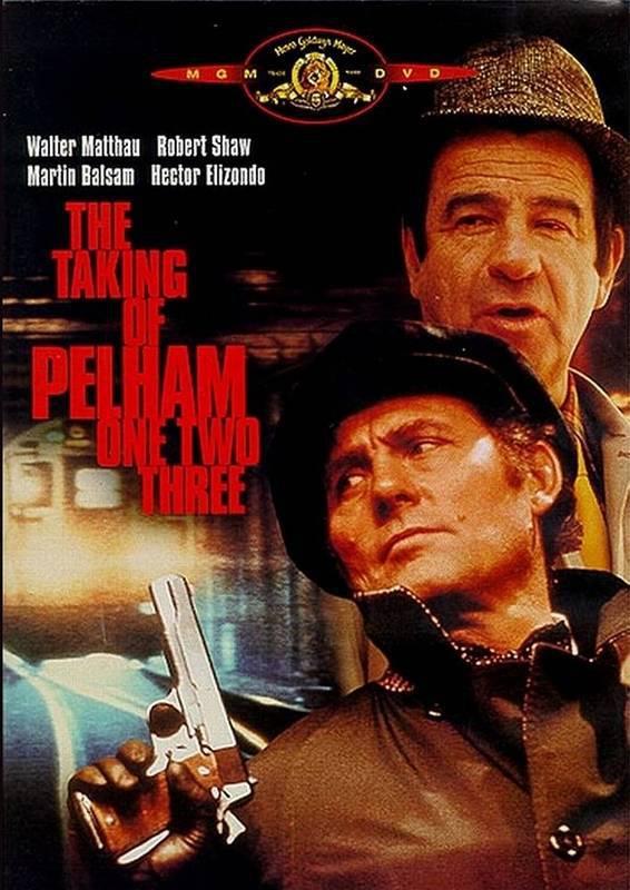 Захват поезда Пелэм 1-2-3. Обложка с сайта 123nonstop.com
