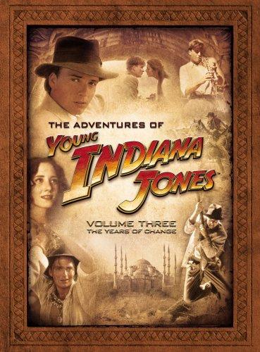 Приключения молодого Индианы Джонса. Обложка с сайта amazon.co.uk