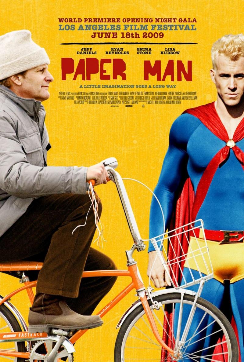 Бумажный человек. Постер с сайта kinopoisk.ru