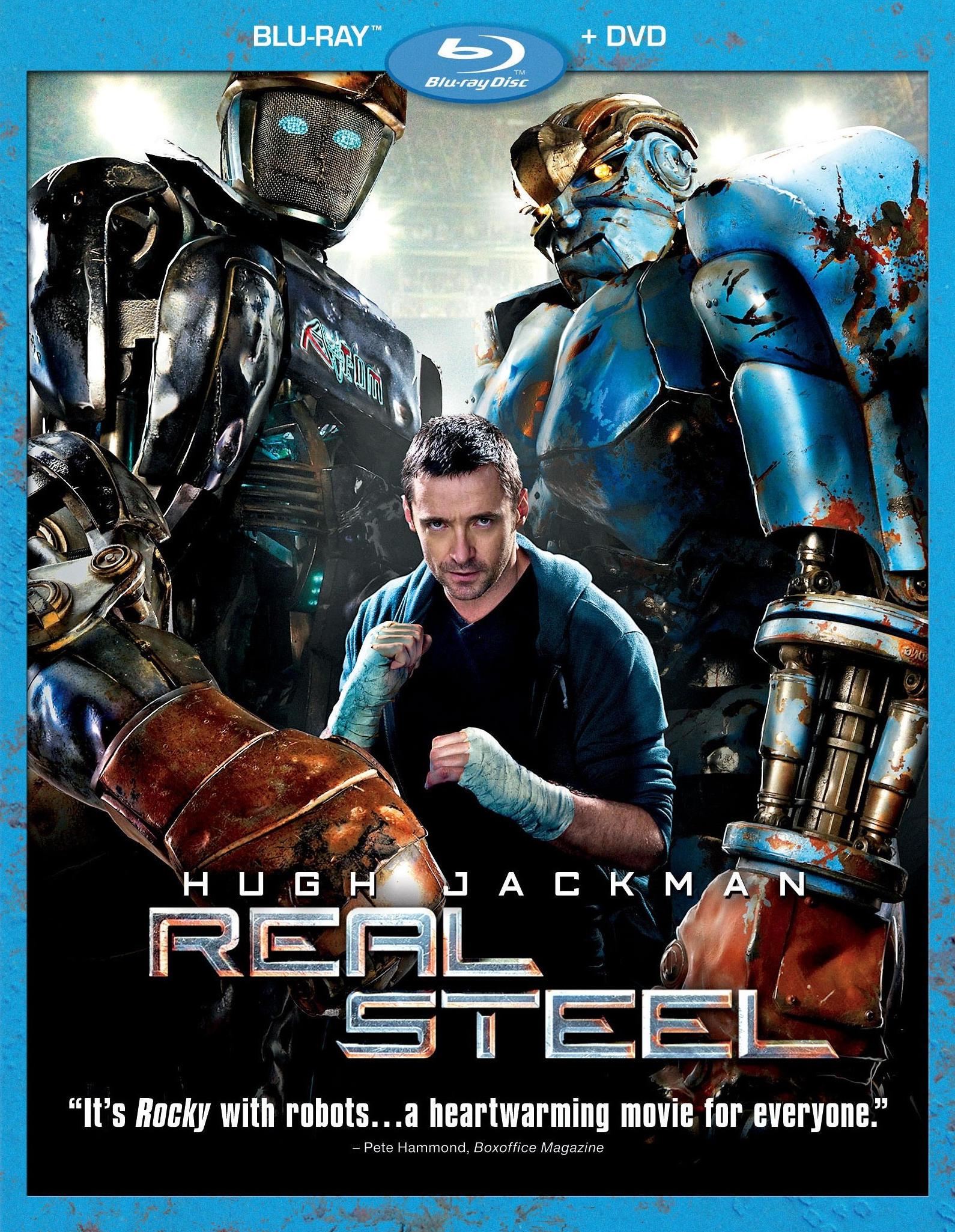 Живая сталь. Обложка с сайта imagepost.ru