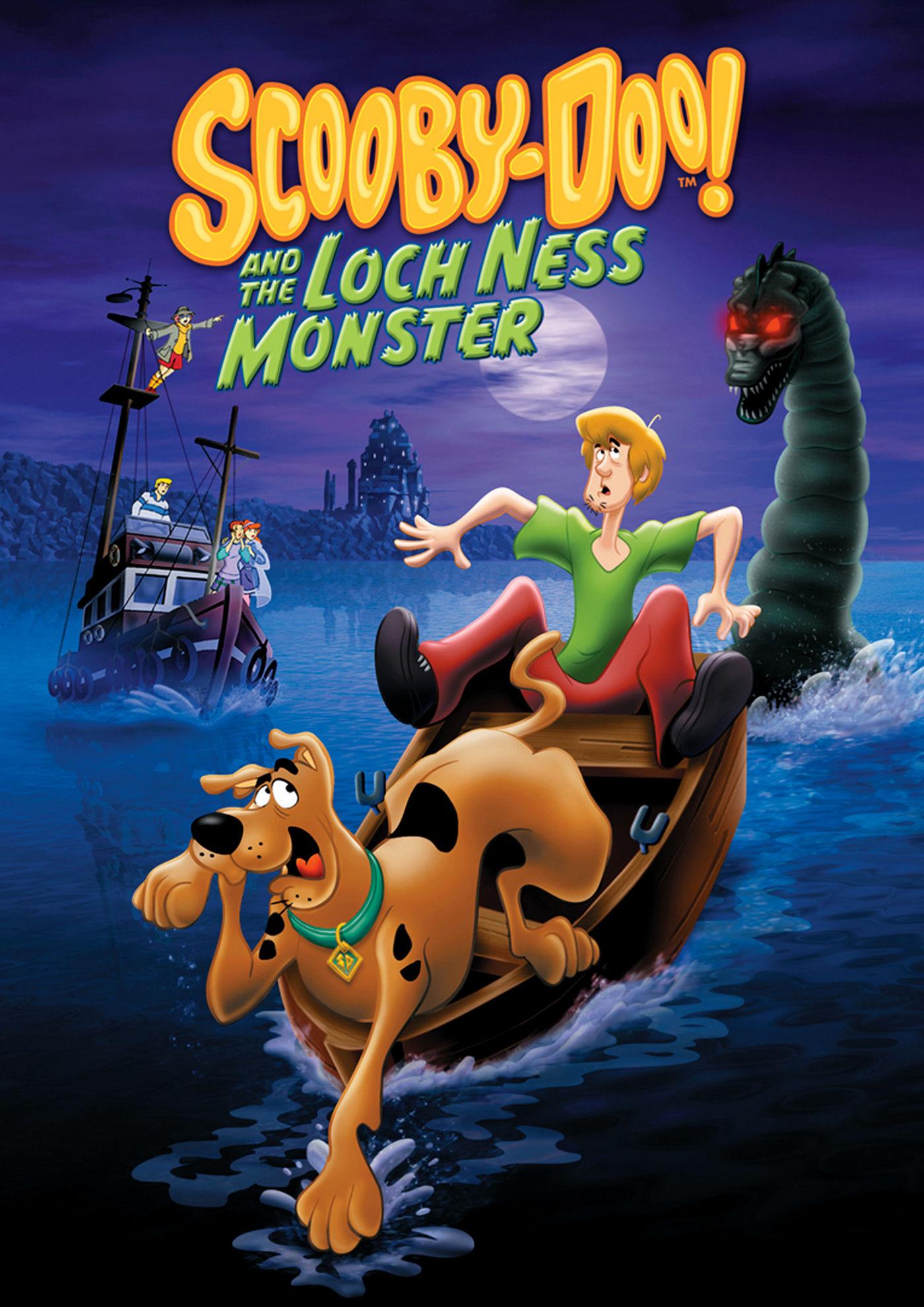 Скуби Ду и Лох-несское чудовище. Постер с сайта amazon.co.uk