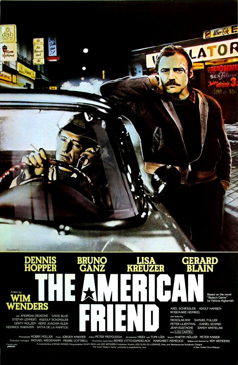 Американский друг. Обложка с сайта imageshost.ru