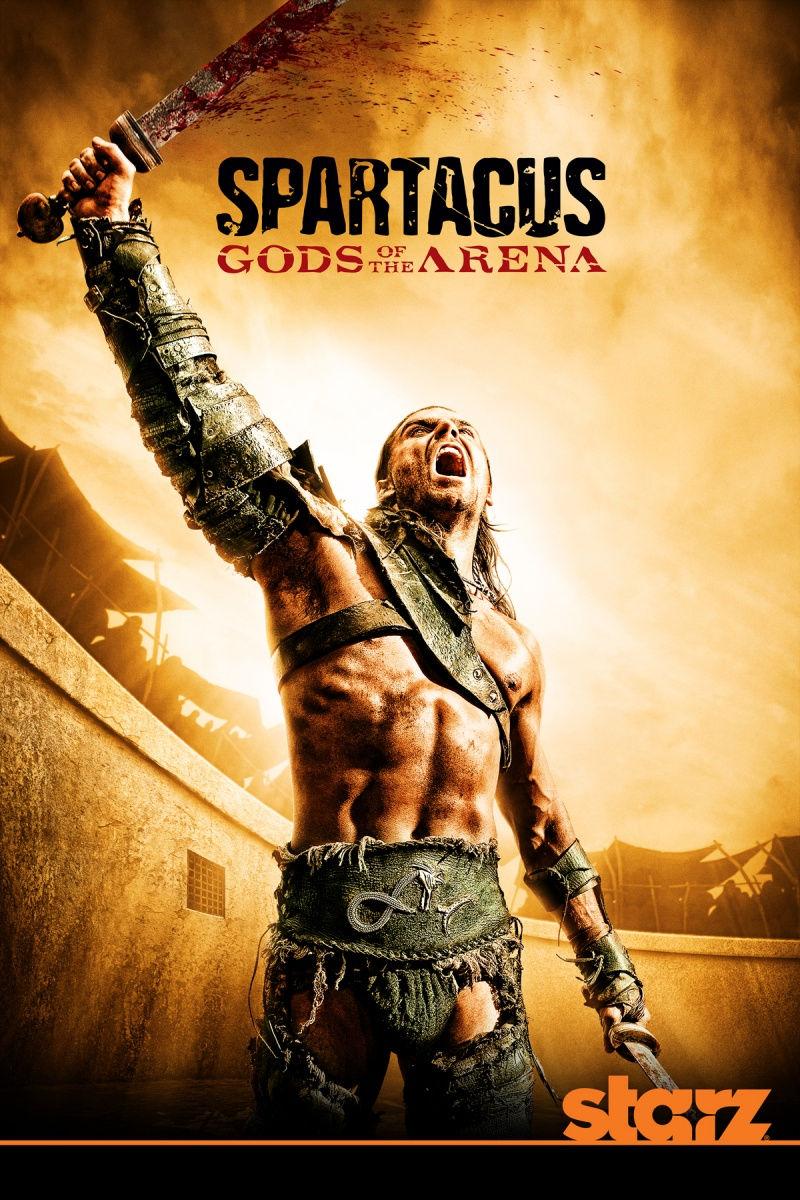 Спартак: Боги арены. Постер с сайта kinopoisk.ru