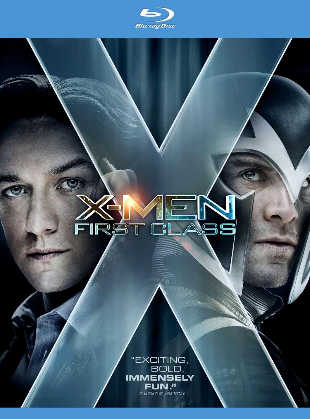 Люди Икс: Первый класс. Постер с сайта kinopoisk.ru