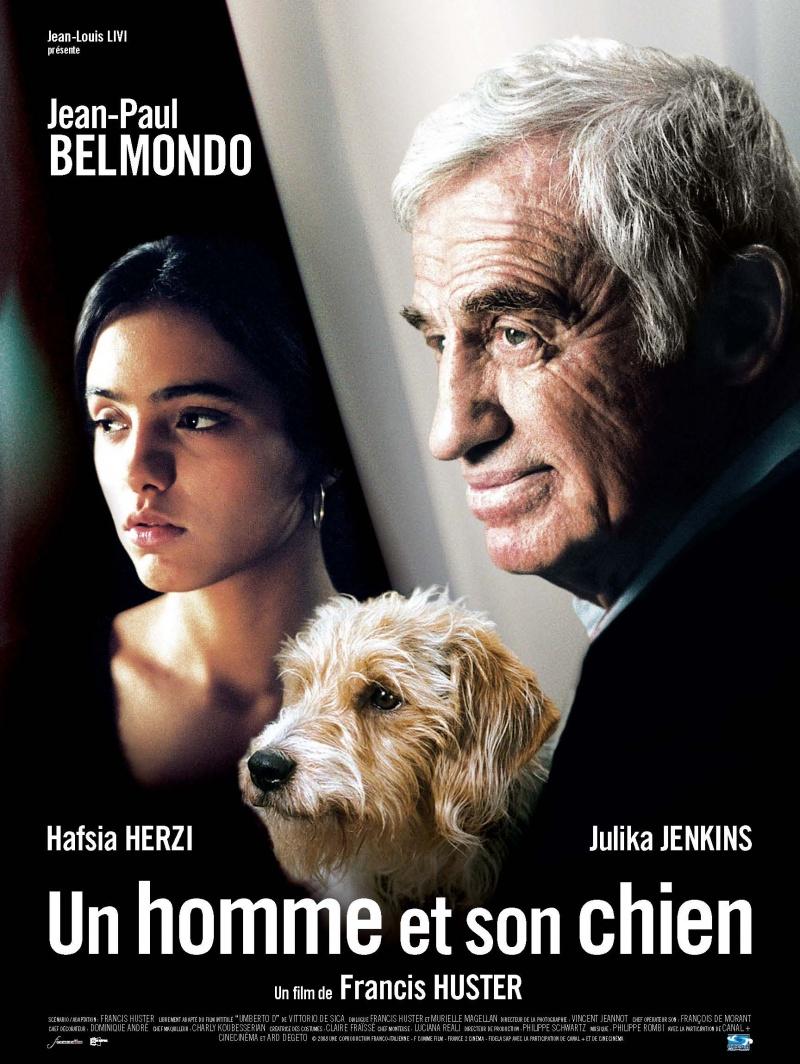 Человек и его собака. Постер с сайта kinopoisk.ru
