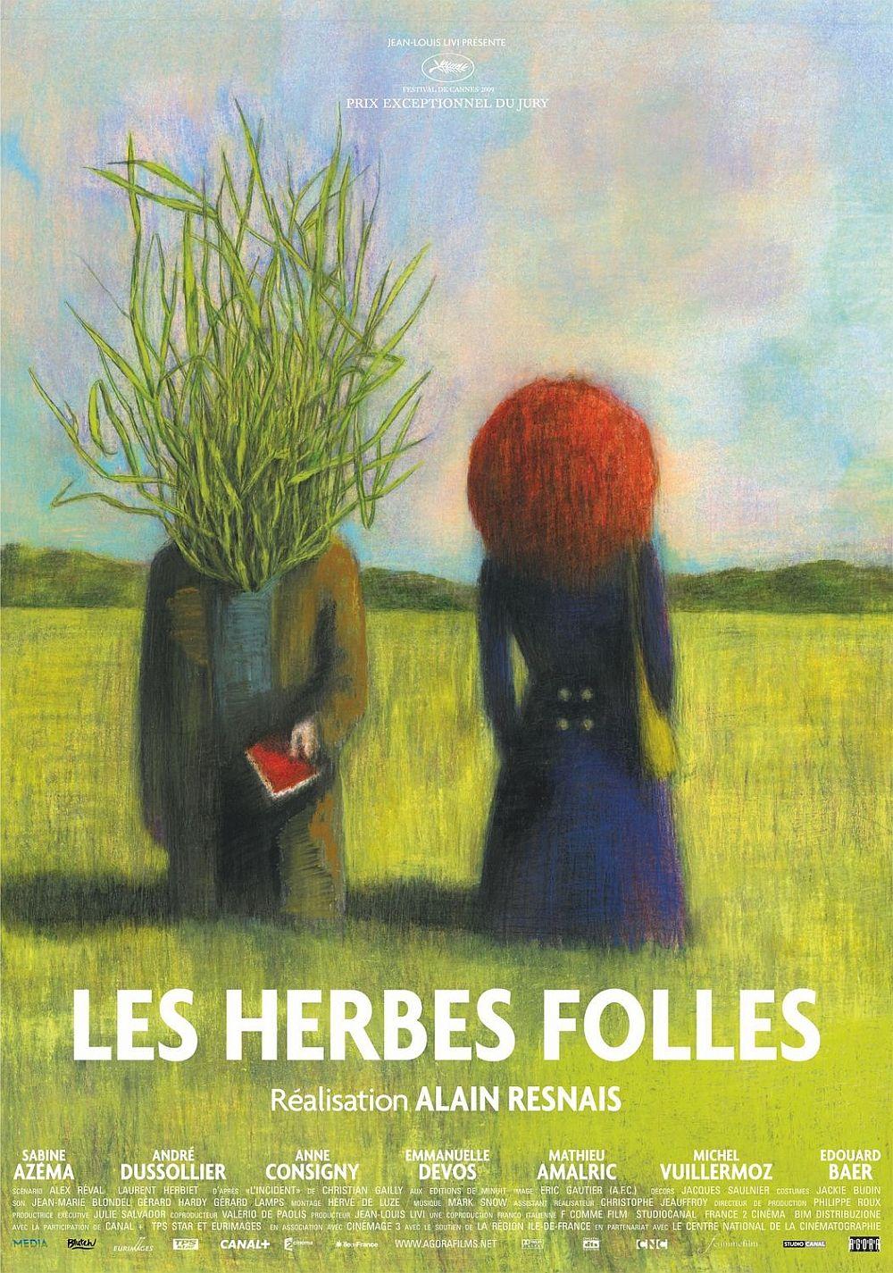Дикие травы. Постер с сайта kinopoisk.ru
