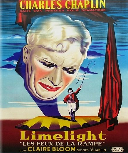 Огни рампы. Постер с сайта radikal.ru