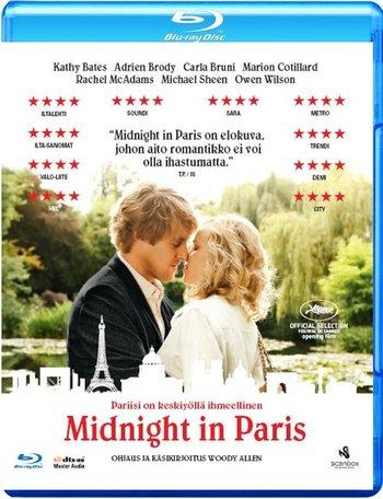 Полночь в Париже. Обложка с сайта kinopoisk.ru