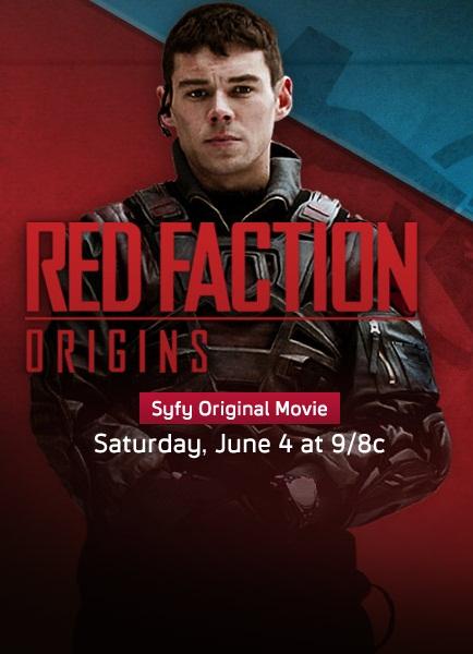 Красная фракция: Происхождение. Постер с сайта kinopoisk.ru