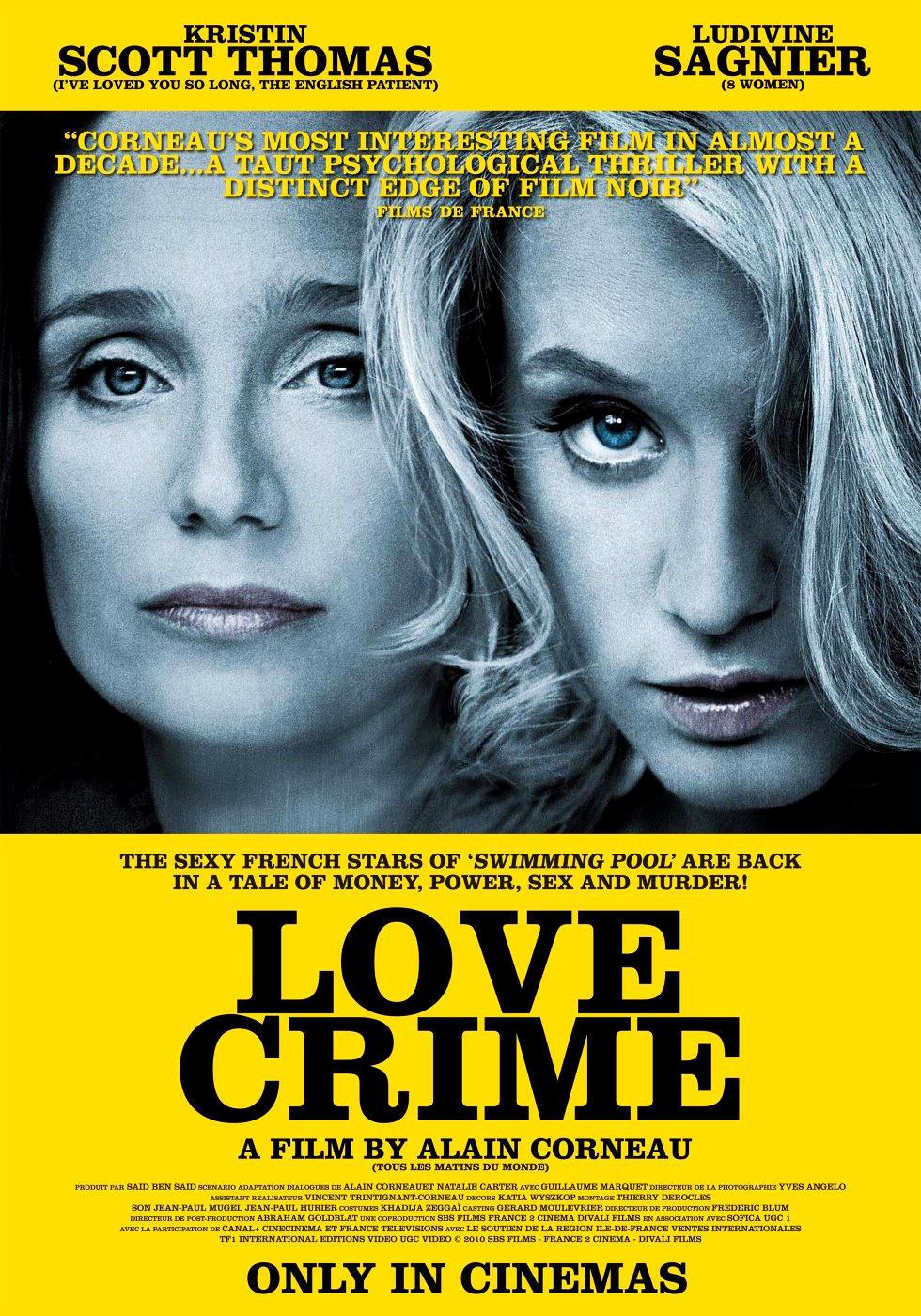 Преступная любовь. Постер с сайта radikal.ru